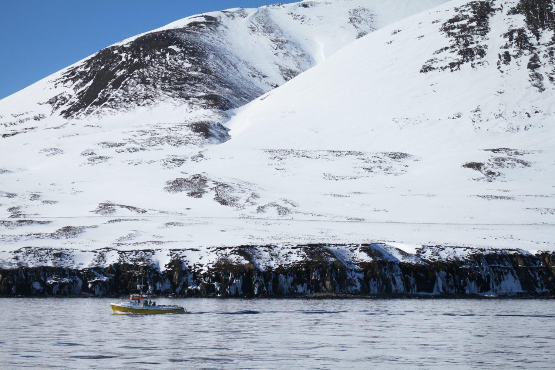 Andare in barca in inverno
